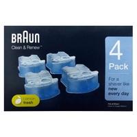 Картридж для очистки бритвы Braun CCR4 Clean & Renew